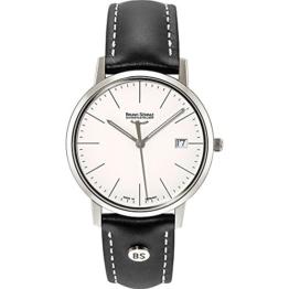 Bruno Söhnle Damen Analog Quarz Uhr mit Leder Armband 17-13176-241 - 1