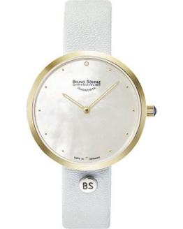Bruno Söhnle Damen Analog Quarz Uhr mit Leder Armband 17-23171-951 - 1