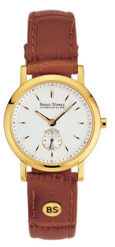 Bruno Söhnle Damen Analog Quarz Uhr mit Leder Armband 17-33035-241 - 1