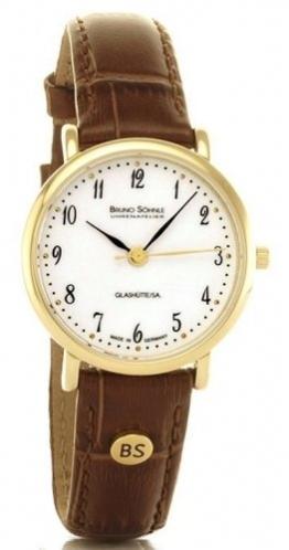 Bruno Söhnle Damen Analog Quarz Uhr mit Leder Armband 17-33045-921 - 1