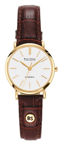 Bruno Söhnle Damen Analog Quarz Uhr mit Leder Armband 17-33045-941 - 1
