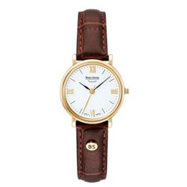Bruno Söhnle Damen Analog Quarz Uhr mit Leder Armband 17-33045-971 - 1