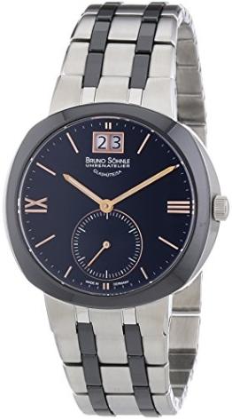 Bruno Söhnle Damen-Armbanduhr XS Analog Quarz Edelstahl 17-73152-736 - 1