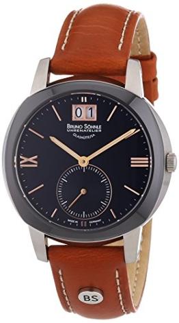 Bruno Söhnle Damen-Armbanduhr XS Analog Quarz Leder 17-73147-735 - 1