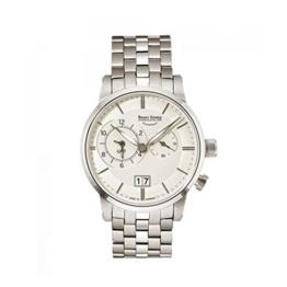 Bruno Söhnle Herren Analog Quarz Uhr mit Edelstahl Armband 17-13043-242 - 1