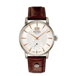 Bruno Söhnle Herren Analog Quarz Uhr mit Leder Armband 17-13055-245 - 1