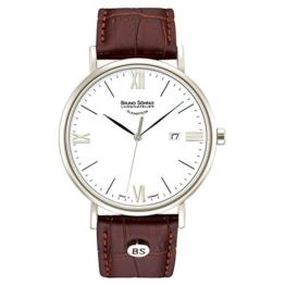 Bruno Söhnle Herren Analog Quarz Uhr mit Leder Armband 17-13085-971 - 1