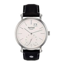 Bruno Söhnle Herren Analog Quarz Uhr mit Leder Armband 17-13095-241 - 1