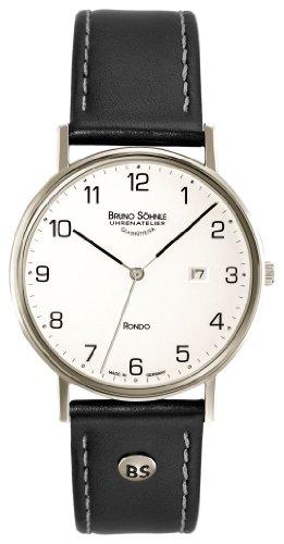Bruno Söhnle Herren Analog Quarz Uhr mit Leder Armband 17-13105-221 - 1