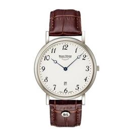 Bruno Söhnle Herren Analog Quarz Uhr mit Leder Armband 17-13109-920 - 1
