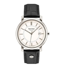 Bruno Söhnle Herren Analog Quarz Uhr mit Leder Armband 17-13142-241 - 1