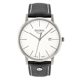 Bruno Söhnle Herren Analog Quarz Uhr mit Leder Armband 17-13175-241 - 1