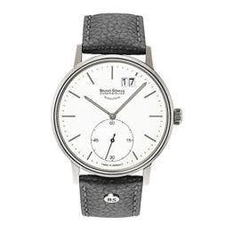 Bruno Söhnle Herren Analog Quarz Uhr mit Leder Armband 17-13179-247 - 1