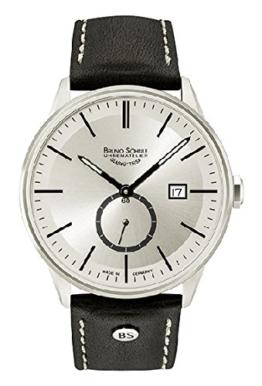 Bruno Söhnle Herren Analog Quarz Uhr mit Leder Armband 17-13182-241 - 1