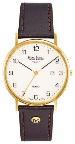 Bruno Söhnle Herren Analog Quarz Uhr mit Leder Armband 17-33105-921 - 1