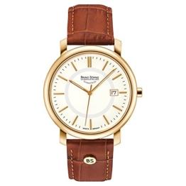 Bruno Söhnle Herren Analog Quarz Uhr mit Leder Armband 17-33142-241 - 1