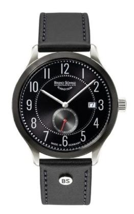 Bruno Söhnle Herren Analog Quarz Uhr mit Leder Armband 17-73181-720 - 1