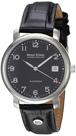 Bruno Söhnle Herren-Armbanduhr Momento Analog Quarz Leder 17-13016-723 - 1