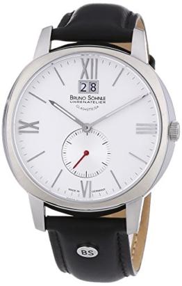 Bruno Söhnle Herren-Armbanduhr XL Analog Quarz Leder 17-13146-231 - 1