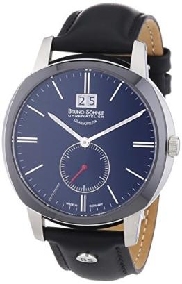 Bruno Söhnle Herren-Armbanduhr XL Analog Quarz Leder 17-73146-741 - 1