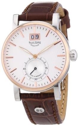 Bruno Söhnle Herren-Armbanduhr XL Briosa Analog Quarz Leder 17-63144-241 - 1