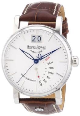 Bruno Söhnle Herren-Armbanduhr XL Pesaro I Analog Quarz Leder 17-13073-241 - 1