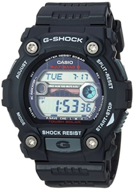 Casio G-Shock Herren-Armbanduhr, Quarz, Harz, Farbe: Schwarz (Modell: GW-7900-1CR) - 1