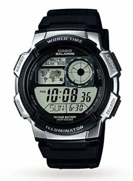 Casio Herren Uhr Digital mit Resinarmband AE-1000W-1A2VEF - 1