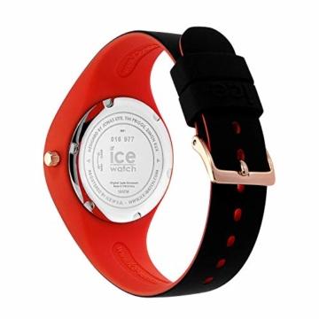 Ice-Watch - ICE duo chic California - Schwarze Damenuhr mit Silikonarmband - 016977 (Small) - 4