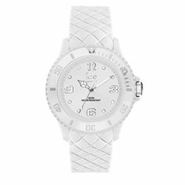 Ice-Watch - Ice Sixty Nine White - Weiße Damenuhr mit Silikonarmband - 007275 (Small) - 1