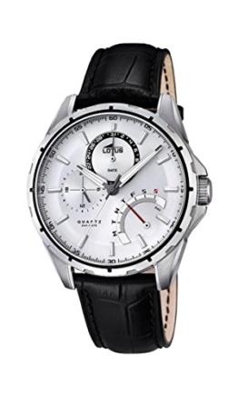 Lotus Herren-Armbanduhr Analog Quarz Leder 18208/1 - 1