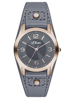 S.Oliver Damen Analog Quarz Armbanduhr SO-2947-LQ - 1