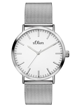 S.Oliver Damen Analog Quarz Armbanduhr SO-3145-MQ - 1