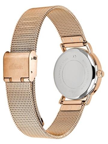 S.Oliver Damen Analog Quarz Armbanduhr SO-3272-MQ - 2