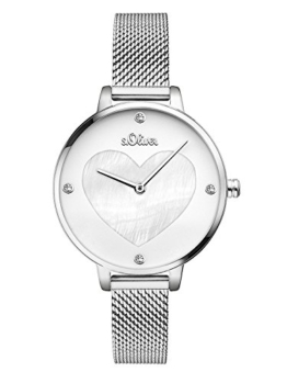 S.Oliver Damen Analog Quarz Armbanduhr SO-3472-MQ - 1