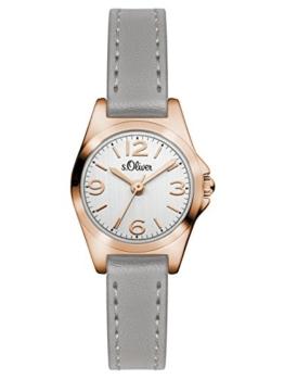 s.Oliver Damen-Armbanduhr Analog Quarz Leder SO-3125-LQ - 1
