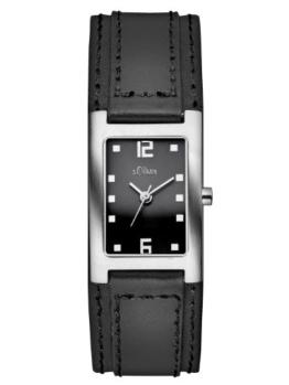 s.Oliver Damen-Armbanduhr Casual Analog Quarz Leder SO-2500-LQ - 1