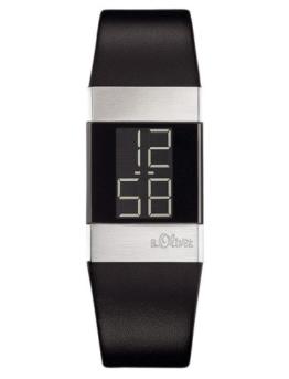 S.Oliver Damen Digital Quarz Armbanduhr SO-1125-LD - 1
