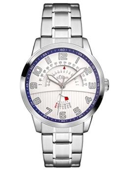 s.Oliver Herren Analog Quarz Uhr mit Edelstahl Armband SO-3223-MM - 1