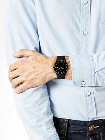 s.Oliver Herren Analog Quarz Uhr mit Edelstahl Armband SO-3479-MQ - 2