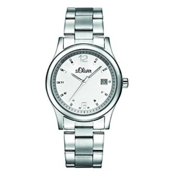 s.Oliver Herren-Armbanduhr Analog Quarz SO-15032-MQR - 1