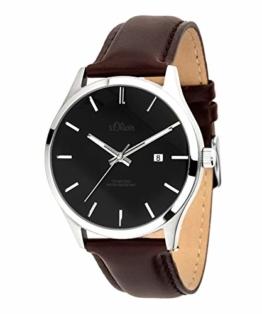 s.Oliver Herren-Armbanduhr Analog Quarz SO-3688-LQ - 1