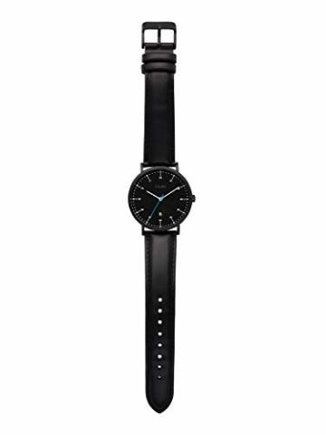 s.Oliver Time Herren Analog Quarz Uhr mit Leder Armband SO-3618-LQ - 2