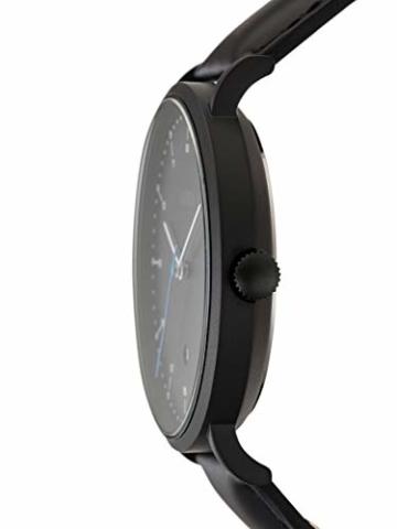 s.Oliver Time Herren Analog Quarz Uhr mit Leder Armband SO-3618-LQ - 4
