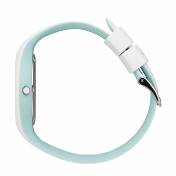 Ice-Watch - ICE duo chic White aqua - Weiße Damenuhr mit Silikonarmband - 016984 (Medium) - 3
