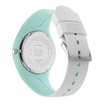 Ice-Watch - ICE duo chic White aqua - Weiße Damenuhr mit Silikonarmband - 016984 (Medium) - 4