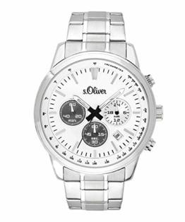 s.Oliver Herren-Armbanduhr Chronograph SO-3691-MC - 1