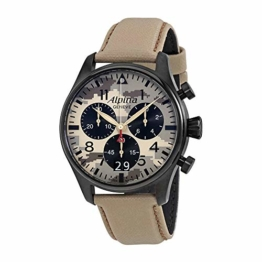 Alpina Startimer Pilot Chronograph Herren-Armbanduhr 372MLY4FBS6 - 1