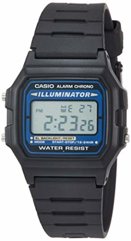 Casio Collection Herren-Armbanduhr F105W1AWYEF - 1
