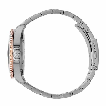 Ice-Watch - Ice Steel Silver Sunset rose-gold - Silbergraue Damenuhr mit Metallarmband - 016769 (Medium) - 3